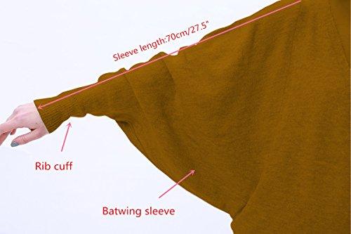 Devant Manches Chandail MEEFUR Poches Solide Ouvert Batwing Lache avec Printemps Manteau Automne Cardigan Vert Tricots Femmes TU1W1wx7n