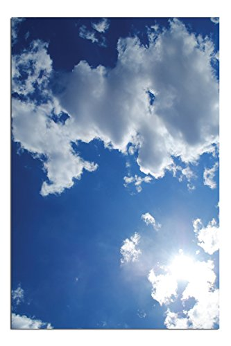 Jp London Solvent Free Poster Art Print Ready to Frame Blue Sky White Cloud