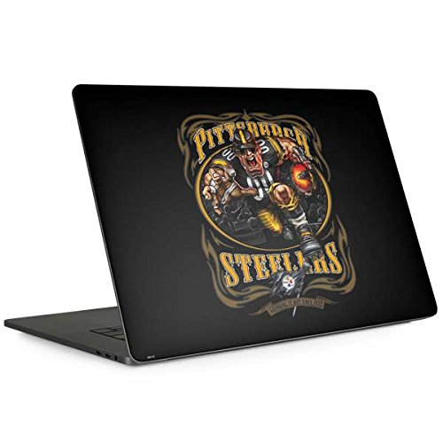 Skinit Pittsburgh Steelers Running Back MacBook Pro 15-inch with Touch Bar (2016-18) Skin - Officially Licensed NFL Laptop Decal - Ultra Thin, Lightweight Vinyl Decal Protection