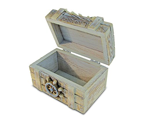 Puzzled Vintage Jewelry Box Nautical Home D Cor Beach