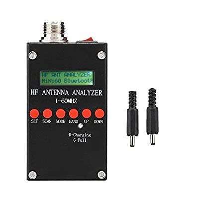Antenna Analyzer, Strong Durable HF ANT SWR High Precision Antenna Analyzer 2.0V pp(Typical) Adjustable