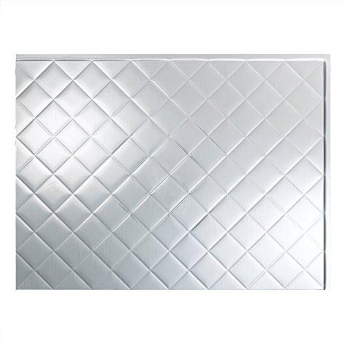 Fasade Installation Aluminum Backsplash Bathrooms