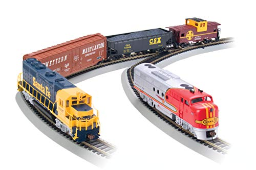 Bachmann Trains - Digital Commander DCC Equipped Ready To Run Electric Train Set - HO Scale ()