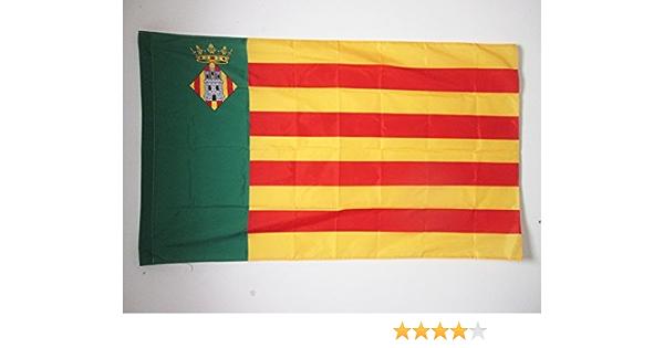 AZ FLAG Bandera de la Provincia DE CASTELLÓN 150x90cm para Palo - Bandera CASTELLÓN EN Comunidad Valenciana 90 x 150 cm: Amazon.es: Jardín