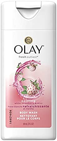 Olay Cooling White Strawberry And Mint Body Wash 89 ml