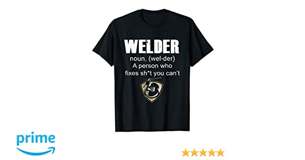 affb116d Amazon.com: Welder noun T shirt - Funny Welder Welding T shirt: Clothing