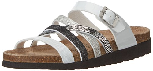 Softwaves 274 244 - Mules Mujer Mehrfarbig (WHITE MULTI)