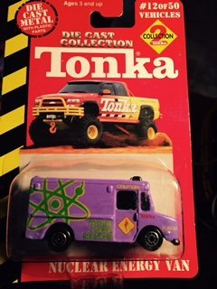 Tonka Die Cast Collection 2 , Nuclear Energy Van (Tonka Van)