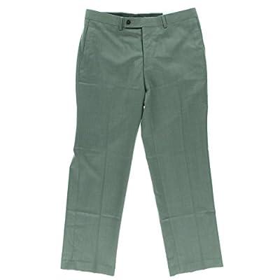 Calvin Klein Men's Modern Fit Flat Front Suit Separate Pant