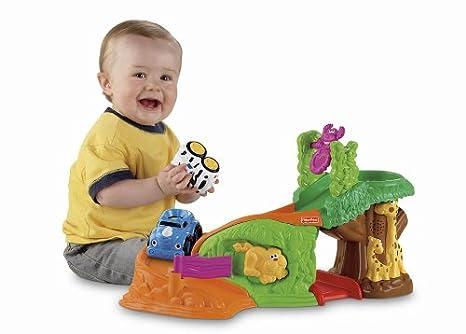Safari Toys For Boys : Amazon fisher price lil zoomers safari sounds rampway toys