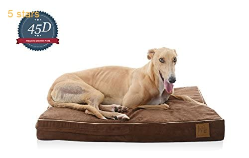 Laifug Orthopedic Memory Foam Pet Dog Bed Large 46 X28 X4