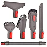 Fullclean Attachment Hose Kit Compatible with Dyson V8 V7 V10 V11 Absolute Cordless,V7 Animal Trigger Motorhead Car+Boat,V10 Animal Motorhead Brush Accessories(Directly Connect,No Adapter Needed)