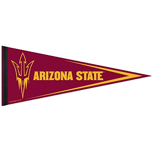 NCAA Arizona State University WCR60300011 Carded Classic Pennant, 12