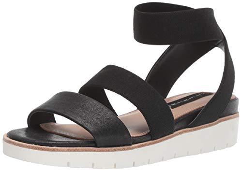 Steven Steve Madden Women's GAMBEL Sandal, Black Multi, 6.5 M US