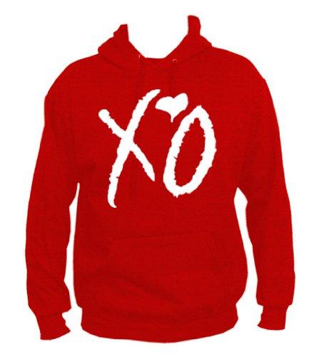 TRVPPY - Sweat Pull à Capuche, modèle XO The Weeknd - Homme