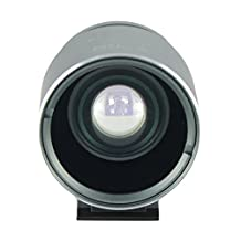 Camera Viewfinder with Optical External Finder Frame for Canon Nikon Olympus Leica Pentax Hasselblad Fuji GR X70 Ricoh DP Sigma VF-11 Sony RX1 Digital Cameras (Grey)