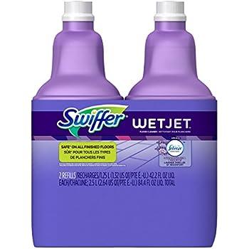 Amazon Com Swiffer Wet Jet Antibacterial Cleaner With