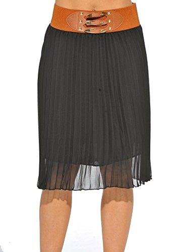 long accordion pleat dress - 9