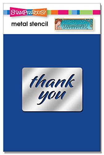 Stampendous DWLS1009 Thank You Dreamweaver Stencil