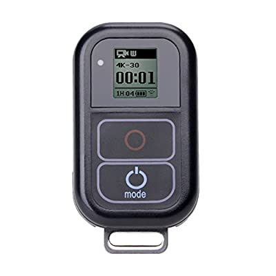Suptig Waterproof wireless Remote Control for Gopro Hero 5/5session/4/4s/3+/3 Sports Camera Wifi Remote