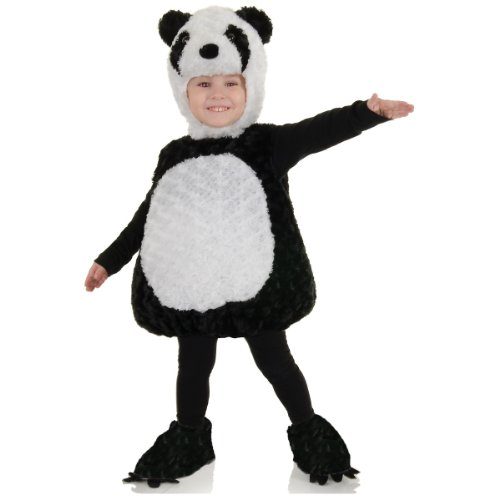 [Underwraps Baby's Panda Belly-Babies, Black/White, Large] (Noahs Ark Baby Bear Costume)