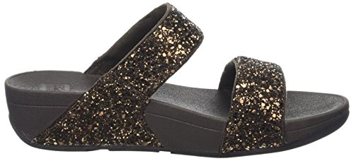 Slide Fitflop Glitterball Glitter Bronze WoMen Platform Brown Sandals TqEBqR