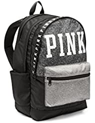 Victorias Secret PINK Campus Backpack Pure Black