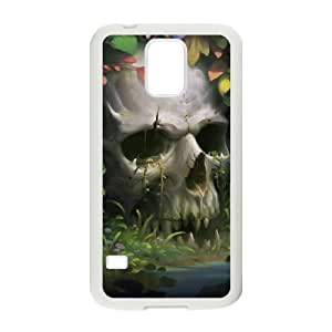 Case Of Artistic Skull Customized Case For SamSung Galaxy S5 i9600