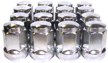 11-16 Black Locking Wheel Nuts 12x1.5 Bolts for Ford Focus Mk3
