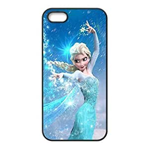 MMZ DIY PHONE CASEFrozen lovely girl Cell Phone Case for iPhone 5S