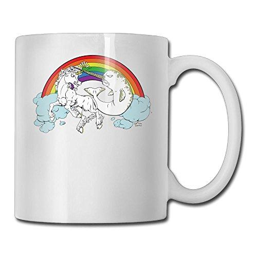 Unicorn Vs Narwhal Fashion Coffee Cup
