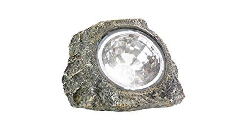GSL SS-GSL-K5017 8'' Outdoor Garden Stone Solar Spot Light by GSL