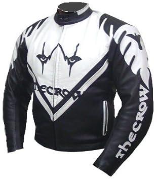 Karno KC003 Chaqueta de piel para moto, quad, etc., diseño ...