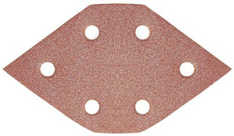 Magnate PTP4 PSA 6 Hole Stearated Diamond Sheets - 40 Grit; 100 Count/Pack; C Weight