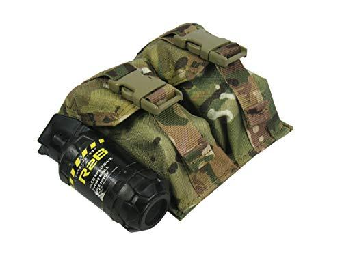 - tactic.world M.O.L.L.E Pouch Double Under Two Grenades. Model (Multicam)