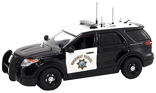 1/43 フォード エクスプローラー カリフォルニア州ハイウェイパトロール (ブラック×ホワイト) FR-FDU-101