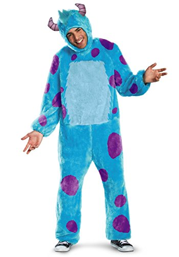 Disguise Adult Sulley Costume X-Large Blue]()