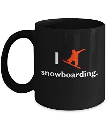 Snowboarding Mug - I Love Snowboarding - 11 oz Coffee Mug Tea Cup