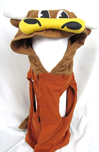 Infinity Texas Longhorns Size Large (21 Lbs - 30 Lbs) Dog Mascot Outfit AUTX 101 L