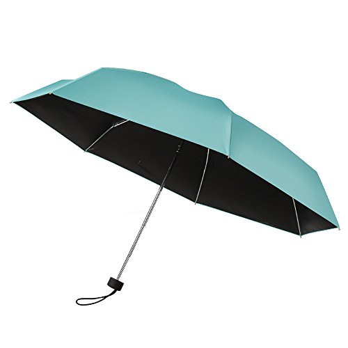 plemo umbrella tiffany blue travel compact lightweight ultra mini pocket size anti uv parasol. Black Bedroom Furniture Sets. Home Design Ideas