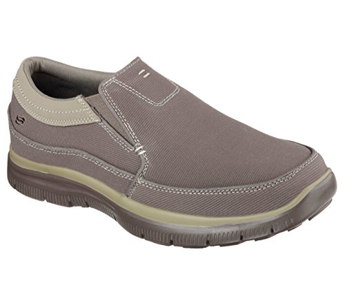 Skechers Mens Avslappnad Fit Hinton Khaki