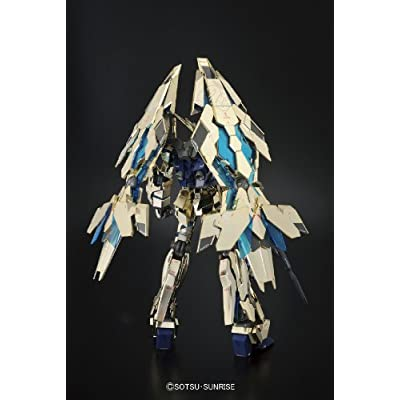 Bandai Hobby MG Unicorn Gundam 03 Phenex Model Kit (1/100 Scale): Toys & Games
