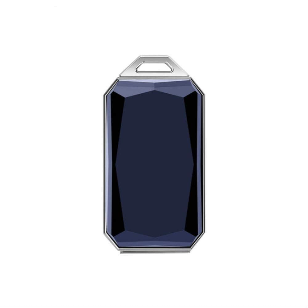 QSJWLKJ Ip67 Collar Impermeable para Mascotas gsm Agps WiFi Lbs Mini Light GPS Tracker para Mascotas Perros Gatos Ganado OvejasColgante Azul