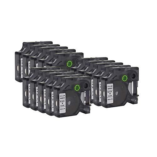 (WonderTec Compatible for LabelManager 160, 210D, 210D Kit, 260P, 280, PnP, 360D, 420P, 450D and More 12mm (1/2