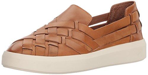 Frye Womens Brea Hurache Slip On Sneaker Tan