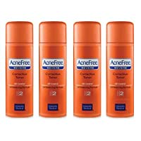 Acnefree Severe Corrective Toner (Step 2) Pack of Four (4 X 4 Oz = 16 Oz)
