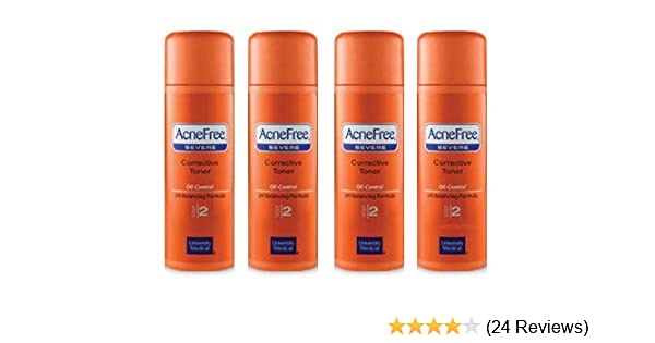 Amazon Com Acnefree Severe Corrective Toner Step 2 Pack Of Four