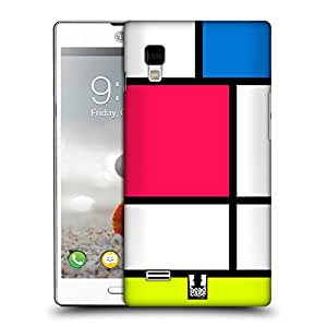 Head Case Designs Neon Hued Tiles Protective Snap-on Hard Back Case Cover for LG Optimus L9 P760 P765 P768
