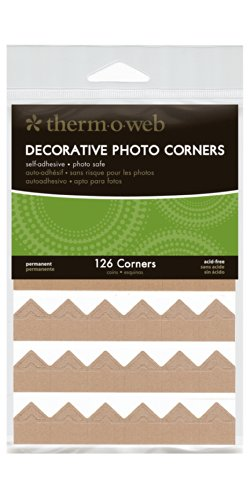 Therm O Web Photo Corner Sheets, Kraft