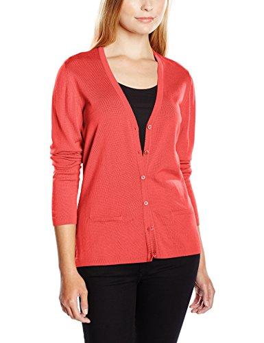 Maerz 200900, Chaqueta de Punto Para Mujer Rojo (Raspberry Rose 493)